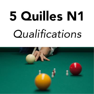 5 Quilles N1 - Tour 01 @ CAB / ABCH